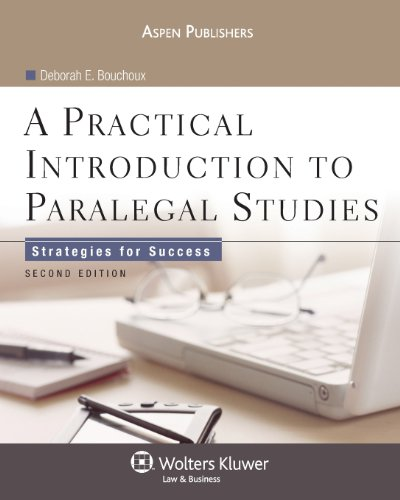9780735569478: A Practical Introduction to Paralegal Studies: Strategies for Success