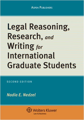 9780735569539: Legal Reasoning Research & Writing for International Graduate Students