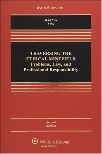 9780735569621: Traversing the Ethical Minefield: Professional Responsibility