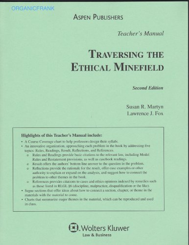 9780735569638: Traversing the Ethical Minefield: Problems, Law, and Professional Responsibility