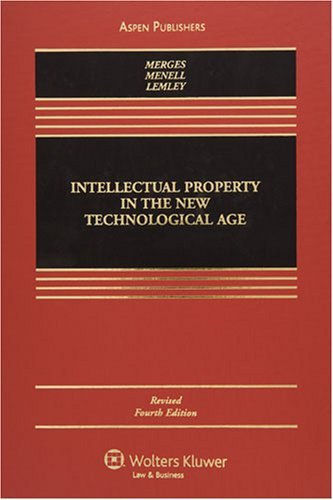 9780735569898: Intellectual Property in New Technological Age 4e Revised