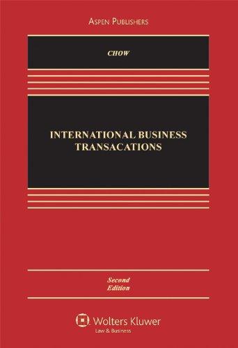 9780735570658: International Business Transactions, Second Edition