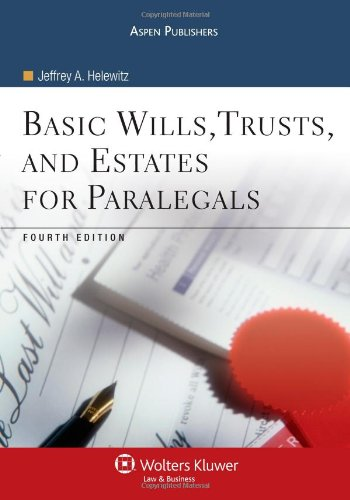 9780735571198: Basic Wills Trusts & Estates for Paralegals