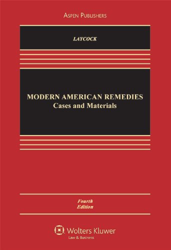 9780735572010: Modern American Remedies: Cases and Materials (Aspen Casebook)