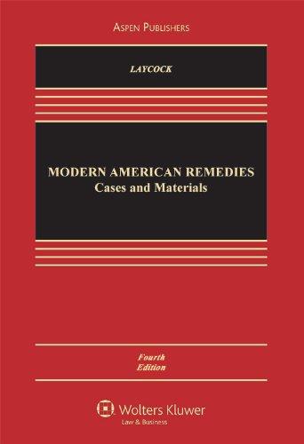 9780735572010: Modern American Remedies: Cases & Materials (Aspen Casebook)