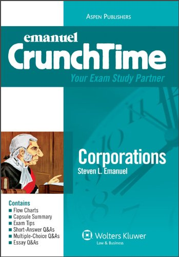 9780735572294: Corporations (CrunchTime)