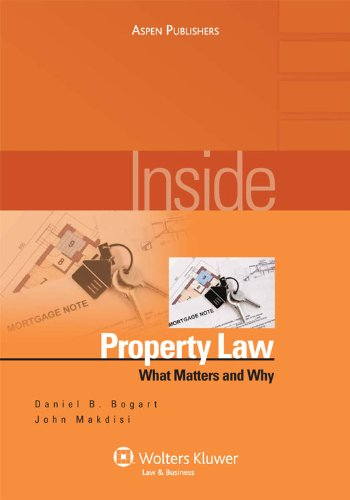 9780735572324: Inside Property Law: What Matters & Why (Inside Series)