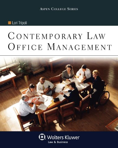 9780735572355: Contemporary Law Office Management (Aspen College)