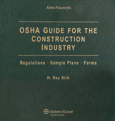 9780735572744: OSHA Guide for the Construction Industry (OSHA Training Guide for the Construction Industry)