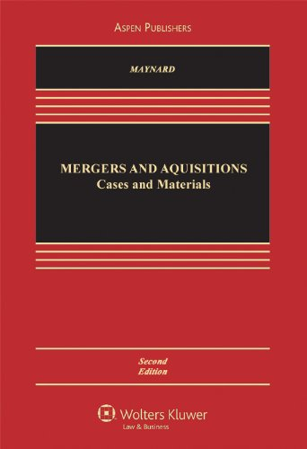 9780735574847: Mergers & Acquisitions: Cases, Materials & Problems 2e