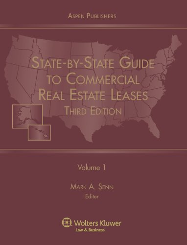State-By-State Guide to Commercial Real Estate Leases (2 Volume Set) (9780735574991) by Mark A. Senn