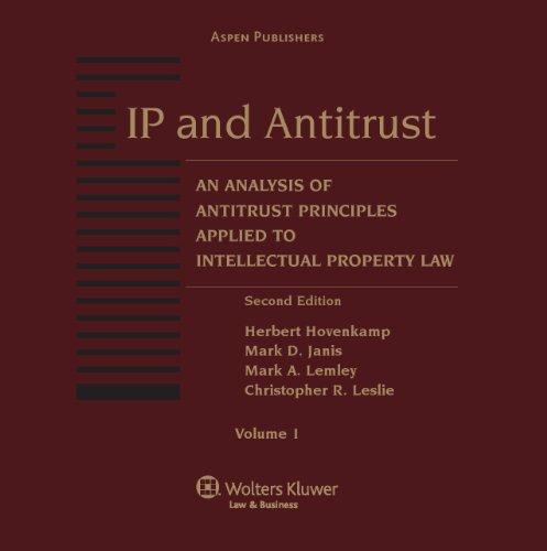 9780735575486: IP & Antitrust: Nalysis Antitrust Princ Applied IP Law 2e (2 Vol)