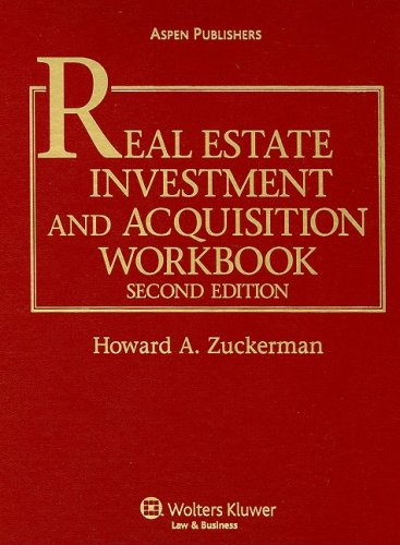 9780735576148: Real Estate Investment and Acquisition Workbook