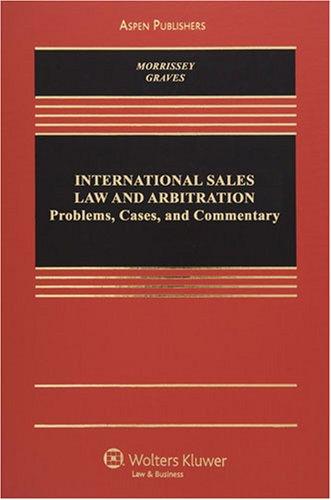 9780735577077: International Sales & Arbitration