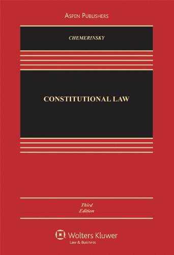 9780735577176: Constitutional Law 3e