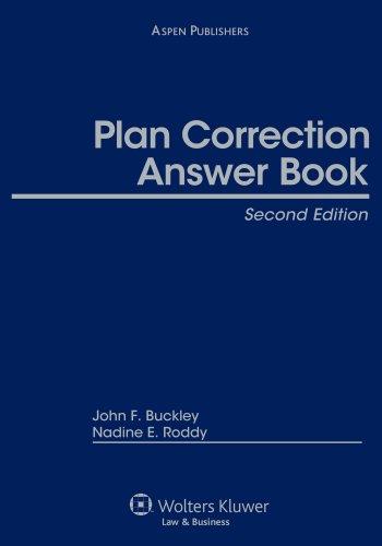 9780735577596: Plan Correction Answer Book