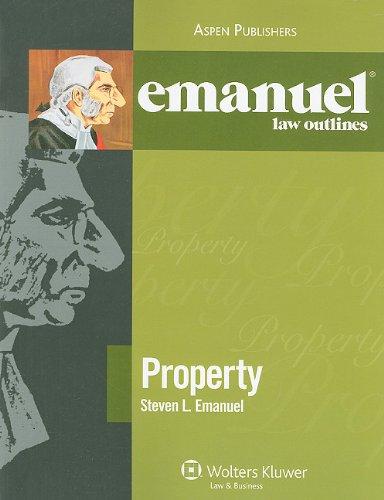 9780735578869: Emanuel Law Outlines: Property
