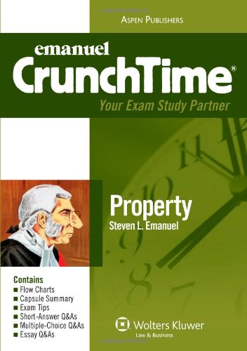 9780735578920: CrunchTime Property (The Crunchtime Series)