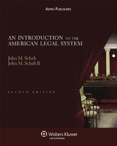 9780735579255: An Introduction To the American Legal System 2nd Edition