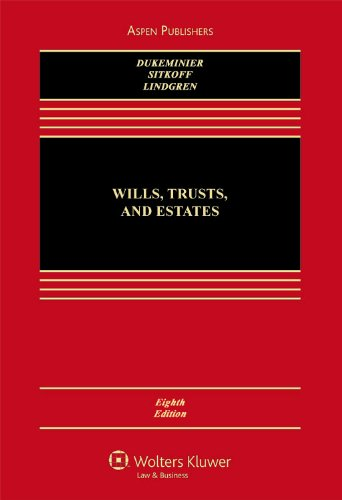 9780735579965: Wills, Trusts, and Estates