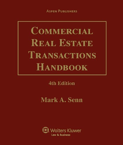 9780735580787: Commercial Real Estate Transactions Handbook: 2009 Cumulative Supplement