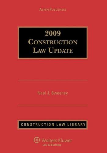 Construction Law Update: Sweeney, Esq., Neal J.