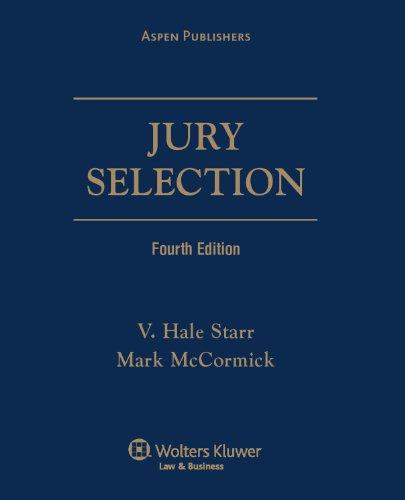 9780735581142: Jury Selection