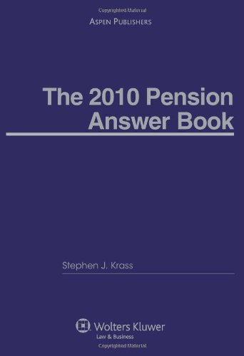 9780735581746: Pension Answer Book 2010 Edition