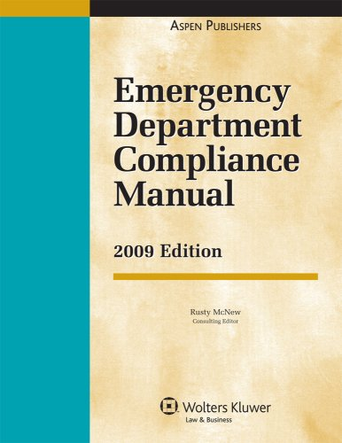 9780735581784: Emergency Department Compliance Manual