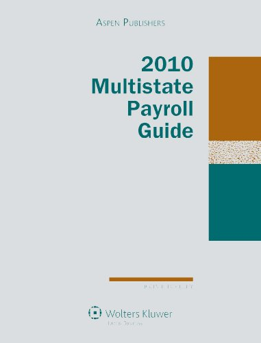 9780735582040: Multistate Payroll Guide 2010 Edition