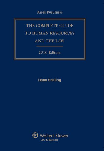 9780735582057: Complete Guide To Human Resources & the Law 2010 Edition W/ Cd (Complete Guide to Human Resources and the Law)