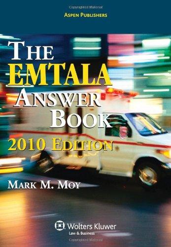9780735582118: EMTALA Answer Book 2010 Edition