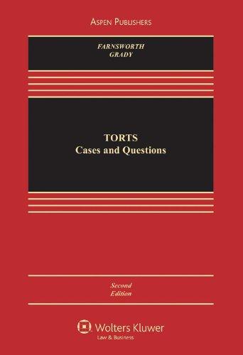 9780735582941: Torts 2e (Aspen Casebook)