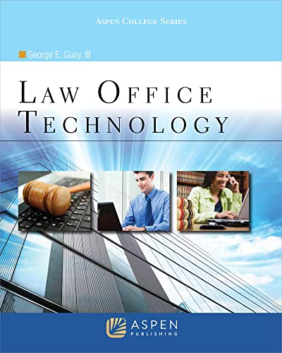 9780735583160: Law Office Technology
