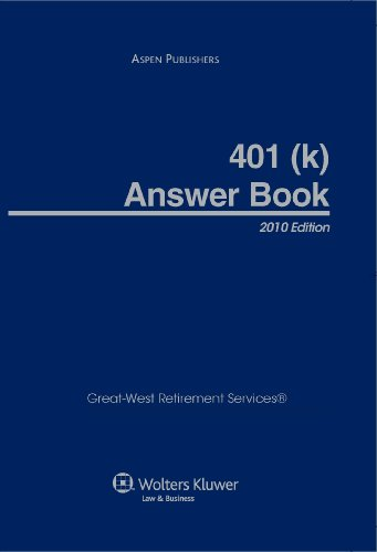 9780735584136: 401k Answer Book 2010 Edition