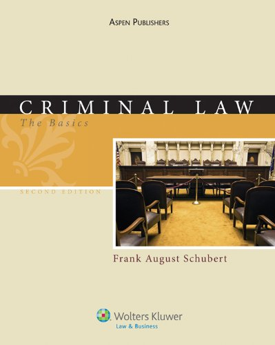 9780735584181: Criminal Law: The Basics, Second Edition