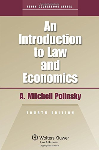 9780735584488: An Introduction To Law & Economics 4th Edition (Aspen Coursebook)