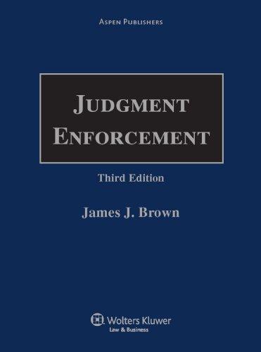 Judgment Enforcement: Brown, Honorable James