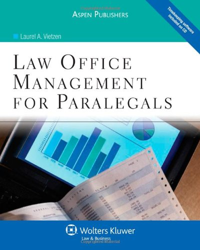 9780735585072: Law Office Management for Paralegals