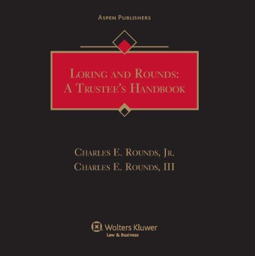 9780735586116: Loring: A Trustees Handbook
