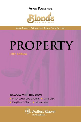 9780735586178: Blond's Law Guides: Property