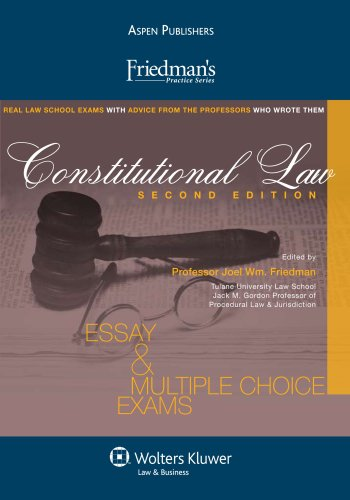 9780735586208: Friedmans Constitutional Law