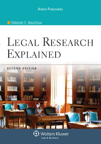 9780735587670: Legal Research Explained, Second Edition