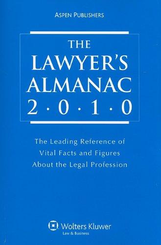 9780735588011: Lawyer's Almanac