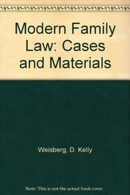 9780735588950: Modern Family Law: Cases and Materials
