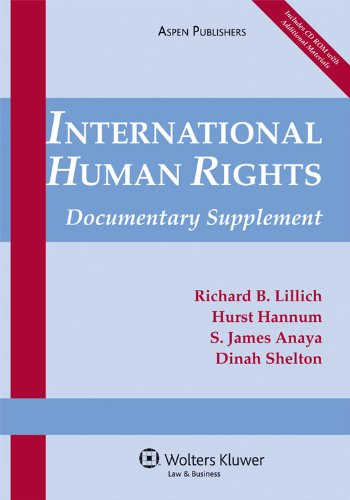 9780735589049: International Human Rights: Documentary Supplement (Supplements)