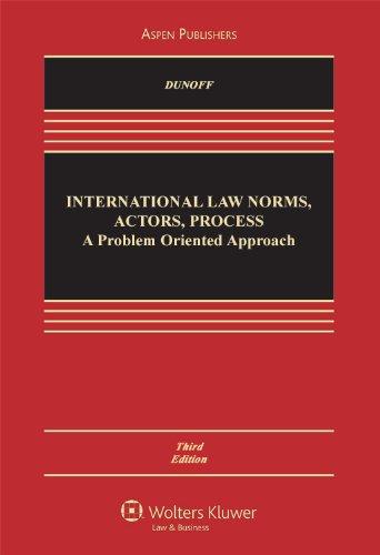 International Law: Norms Actors Process: Problem Approach: Dunoff, Jeffrey; Ratner,