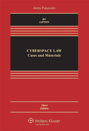 9780735589339: Cyberspace Law: Cases & Materials, Third Edition