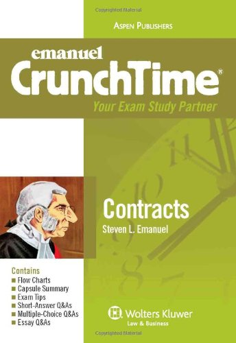 9780735589957: CrunchTime: Contracts