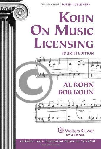 9780735590908: Kohn on Music Licensing